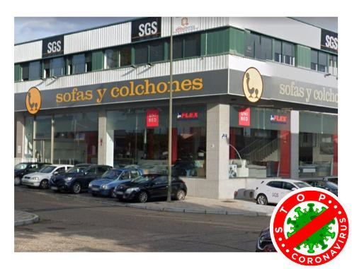 Colchonerías Unibed en Avenida de Gijón Valladolid
